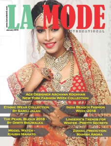 #Gorgeous #Model & #Actress Khushi Mahato on  #cover of #La #Mode #International . to #view #her #profile visit www.lamodeintl.com